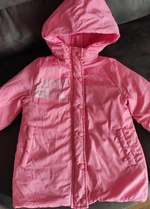 Курточка демісезон на дівчинку 104-110, демисезон