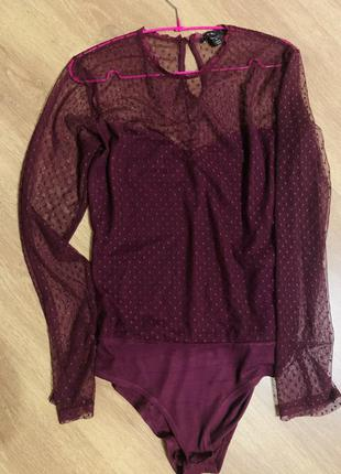 Боди блуза 50-52