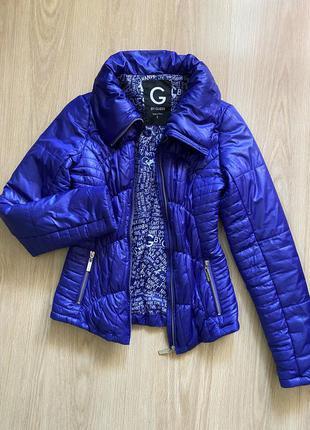 Женская курточка guess, дутая   деми курточка