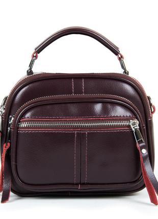 Женская кожаная сумка клатч кожаный шкіряний жіночий
