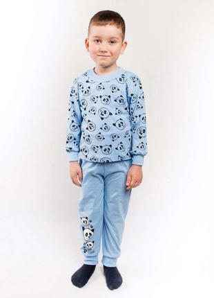 Пижама «панда» кулир