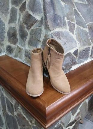 Класные замшевые ботиночки