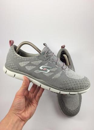 Skechers текстильные кроссовки оригинал