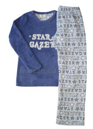 Теплая пушистая пижама star primark love to lounge