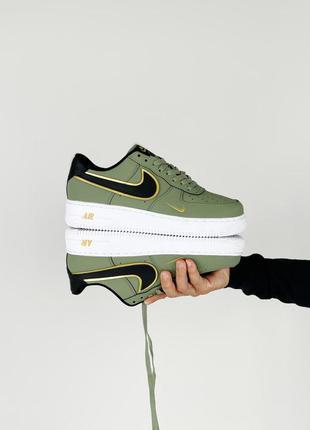 Nike air force 1 green кроссовки унисекс