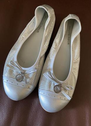 Балетки балерины mariotti кожа
