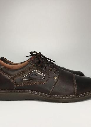 Классические кожаные туфли мужские bumer