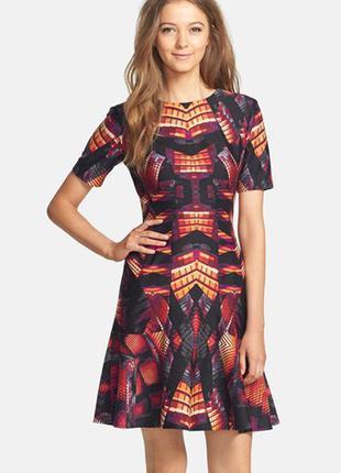 Необычное нарядное платье №73