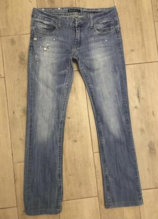 Фирменные джинсы италия штаны
