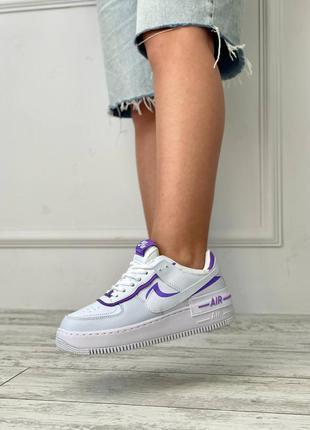 Кроссовки женские найки air force shadow purple