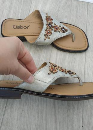 Шлёпанцы,вьетнамки gabor р.40