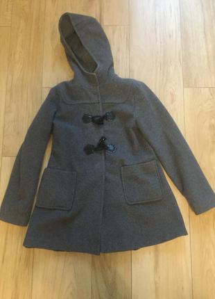 Итальянское шерстянное пальто на девочку