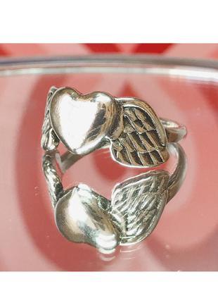 Кольцо сердечко 💓