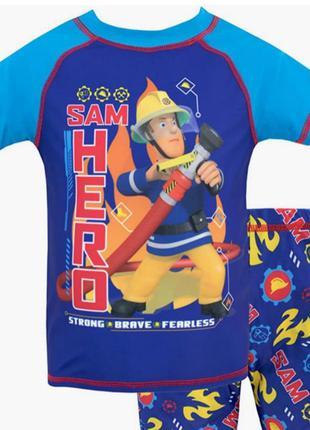 Комплект для плавания из двух частей fireman sam