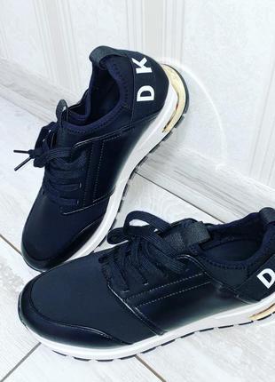 Dkny donna karan размер 8.5us оригинал кроссовки сникерсы