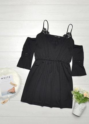 Красиве плаття з ажурними вставками boohoo.