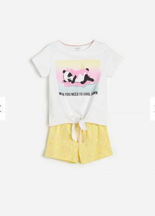 Пижамка для девочки в сад 98/104 бренд reserved