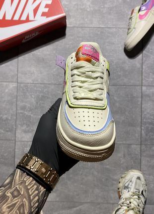 Nike air force shadow beige pale ivory-pink.