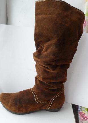 Мега-модные кожаные сапоги от marc soft walk!! размер 37-38