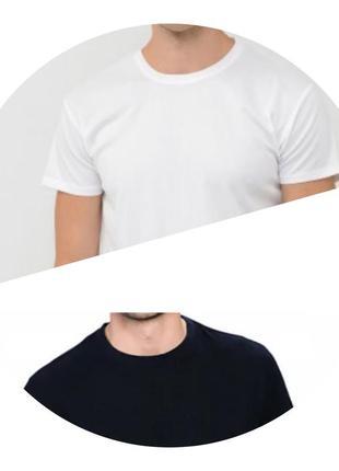 Мужские футболки, классические, хлопковые