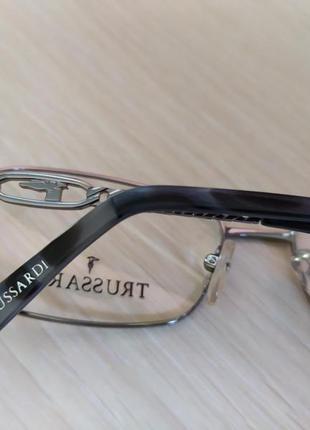 Красивая стильная оригинальная оправа очки окуляри trussardi