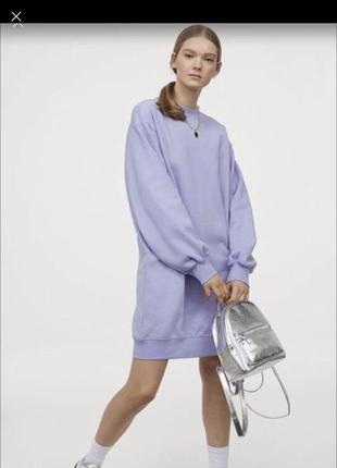 Платье худи свитшот h&m м осень 2021🍂