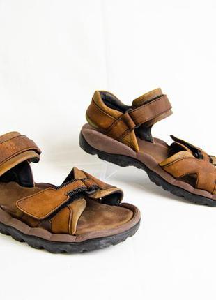Clarks air trek мужские кожаные сандали оригинал! размер 44 29 см