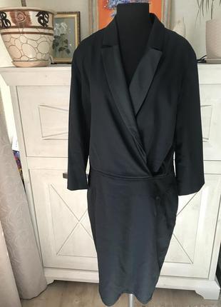 Шикарное шерстяное французское платье cyrillus
