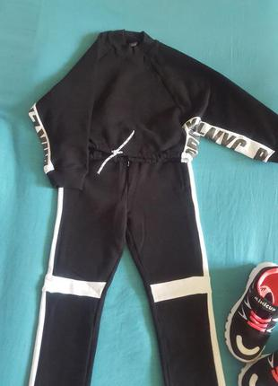 Джемпер+спортивные штаны next на девочку