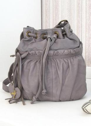Кожаная сумка, accessorize, натуральная кожа