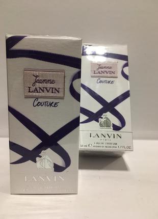 Lanvin jeanne lanvin couture edp 50 ml. парфюмированная вода оригинал редкость