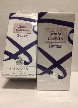 Lanvin jeanne lanvin couture edp 100 ml парфюмированная вода оригинал редкость