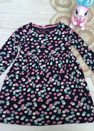 Платье в горошек bluezoo