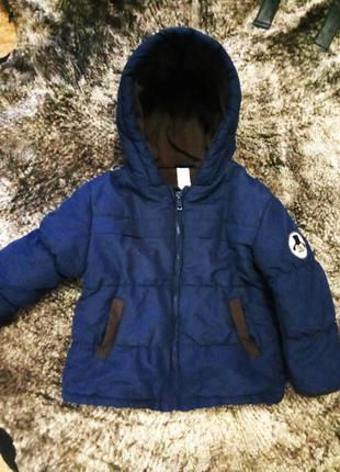 Демисезонная куртка размер 86-92