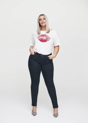 Джинсы большого размера denim co джинси plus size