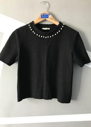 Теплая футболка от zara