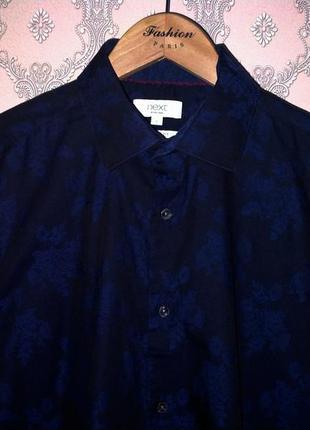 Мужская рубашка с цветами от next