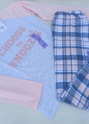 Дитяча піжама primark для дівчинки на зріст 128 см. ткань хлопок.