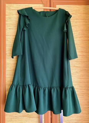 Платье миди нарядное вечернее