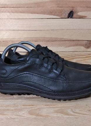 Clarks туфли ботинки натуральная кожа santoni ecco