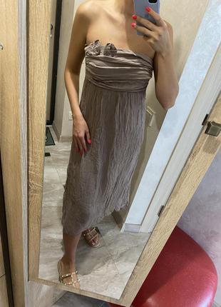Плаття шовк