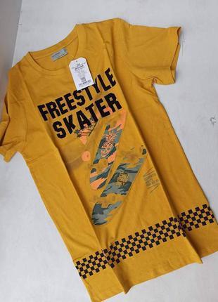 В наявності футболки на хлопчиків. виробник угорщина. розмір в розмір. на зріст 164.
