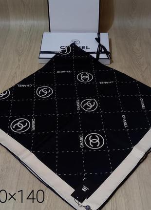 Палантин платок шарф в стиле шанель
