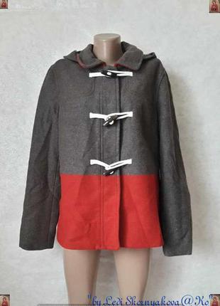 Фирменное old navy полупальто/пальто на 41 % шерсть на осень-весну , размер 2хл