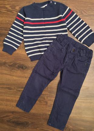 Штаны и свитер комплект