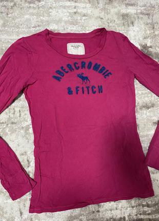 Лонгслив кофта футболка с длинным рукавом abercrombie
