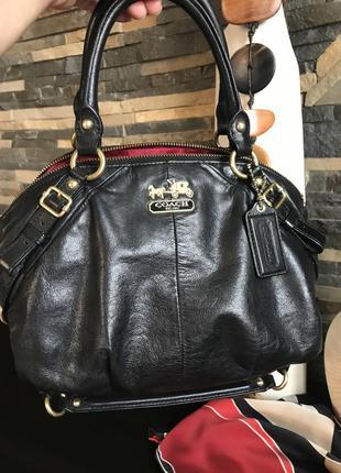 Обалденная сумка дорогого   бенда люкс класса  coach. оригинал