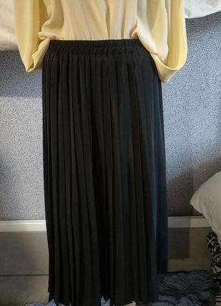 Шикарная юбка плисе винтаж