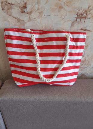 Пляжная сумка 40×29×13