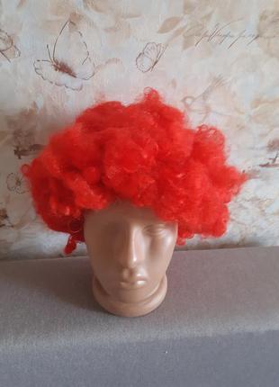 Клоунский парик карнавальный парик